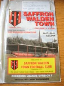 07052008 South Midlands Floodlight Cup SemiFinal Saffron Walden Town v Stans - Birmingham, United Kingdom - 07052008 South Midlands Floodlight Cup SemiFinal Saffron Walden Town v Stans - Birmingham, United Kingdom