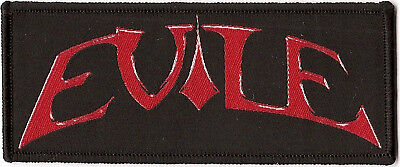 """Evile """"Logo"""" Woven Patch - OFFICIAL"""