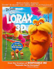 Dr. Seuss The Lorax (Blu-ray/DVD, 2012, 3-Disc Set, Includes Digital Copy UltraViolet 3D/2D)
