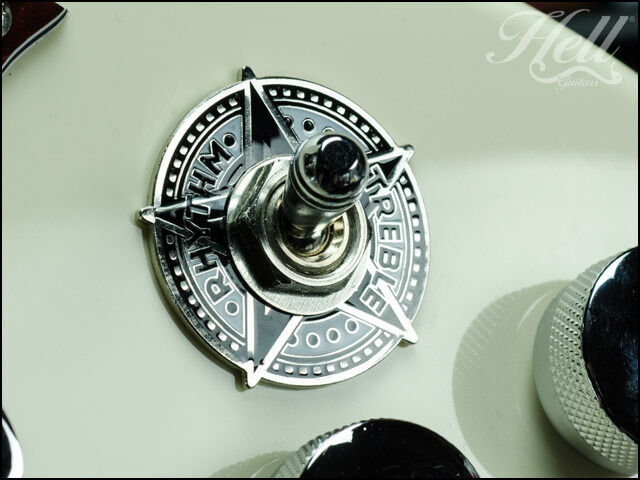"""""""STAR"""" Diecast Switch Washer Ring. Fits most Gibson, Epiphone Les Paul, SG More."""