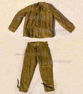 Soviet-Russian-Army-Soldier-Winter-Padded-Uniform-Jacket-amp-Pants-Telogreika-WW2