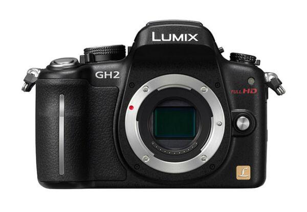 panasonic lumix dmc gh2 16 0 mp digitalkamera schwarz. Black Bedroom Furniture Sets. Home Design Ideas