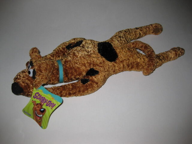 "** R@RE ** Scooby-Doo 17"" Laying Down Plush BRAND NEW"