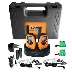 DeTeWe-Outdoor-PMR-8000-Funkgeraet-2er-Set-Duo-Case-Neu