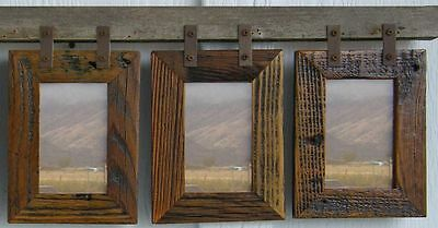 """Picture Frame """"Montana"""" Vertical Conestoga Collage Frame for (3) 5 X 7s"""