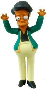 Simpsons-20th-Anniversary-Figurines-Series-1-5-Apu-figure-New-w-Tag