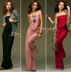 Sexy-Slim-Women-039-s-Close-Fitting-mini-Club-One-piece-pants-piece-pants-jumpsuits