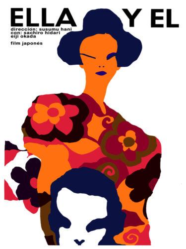 Ella y El Japanese film wall Decoration Poster.Graphic Art Interior design 3471