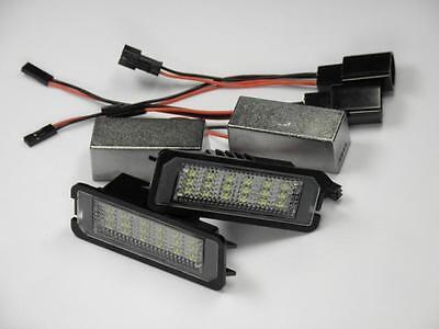 LED SMD Kennzeichenbeleuchtung VW Golf 6 VI 5 V GTI GT R R32 1K TSI TDI 6000K