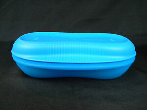 Tupperware Breakfast Maker Microwave Safe Bpa Free Blue