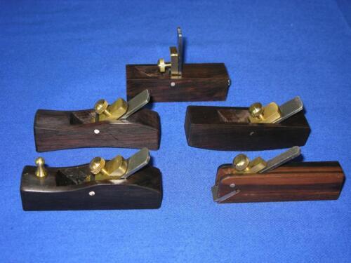 5pcs different sizes European-style ebony Mini planes