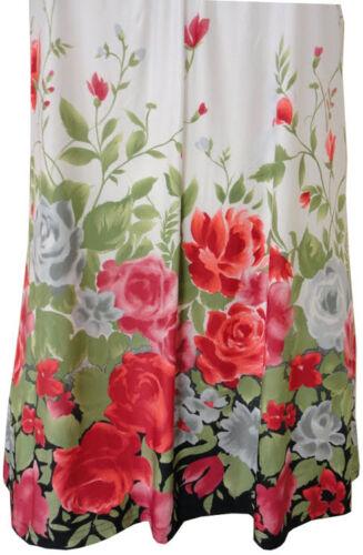 Nouveau femme plus taille floral imprimé cachemire clous col tunique tops 12 au 26