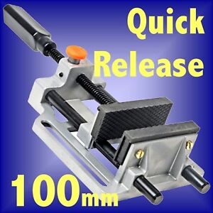 100mm-4-Quick-Release-Pillar-Drill-Bench-Press-vice-clamp-milling-380956