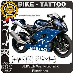 Stars-BIKE-TATTOO-Motorrad-Aufkleber-60-Sterne-Set-W7a