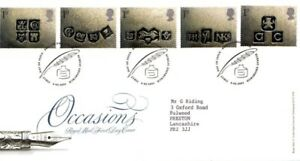 6 FEBRUARY 2001 OCCASIONS ROYAL MAIL FIRST DAY COVER BUREAU SHS - Weston Super Mare, Somerset, United Kingdom - 6 FEBRUARY 2001 OCCASIONS ROYAL MAIL FIRST DAY COVER BUREAU SHS - Weston Super Mare, Somerset, United Kingdom