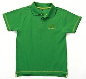 John deere childs boys 9530 polo shirt 9 10 years ebay for John deere shirts for kids