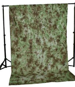 10-X-20-BACKDROP-BACKGROUND-PHOTO-MUSLIN-COTTON-GREEN-BROWN-10-039-X20-039-VIDEO-CAMERA