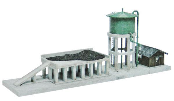 Tomytec (Komono 082) Steam Engine Facility Water & Coal Tower B 1/150 N scale
