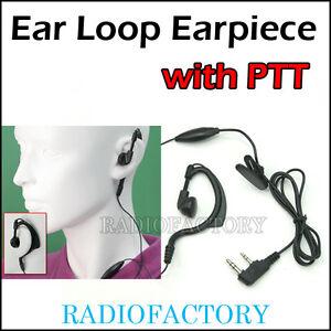 Ear-loop-earpiece-with-PTT-for-kg-uvd1-px-777-px-888-kg-689-tg-uv2-fd-268-E2K