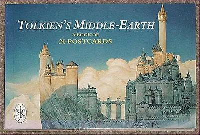 TOLKIEN'S MIDDLE EARTH Rarest Postcard Bk In Existence!