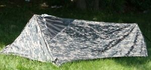 NEW-ACU-Camo-Military-Bivouac-Survival-Tent-Bivy-One-Man-Shelter-3-Season
