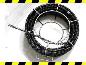 kit spirales flexible furet deboucheur electrique de canalisation 15mm 16mm ebay. Black Bedroom Furniture Sets. Home Design Ideas