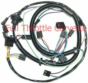 image is loading 1978-corvette-air-conditioning-ac-wiring-harness-new