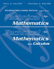 Student Solutions Manual to Accompany Technical Mathematics 6th Edition and Technical Mathematics with Calculus by Paul A. Calter (Paperback, 2011)