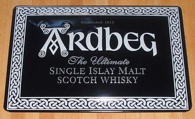 ARDBEG- Blechschild, SCOTCH-WHISKY, NEU