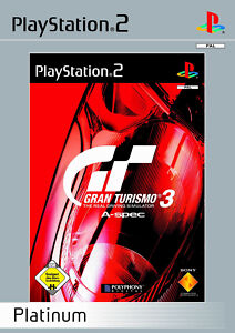 Gran Turismo 3 A-Spec (Sony PlayStation 2, 2002, DVD-Box)