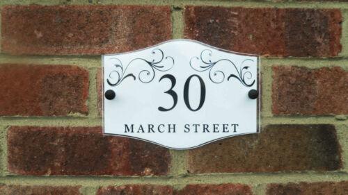 March | MODERN HOUSE SIGN / PLAQUE / DOOR / NUMBER