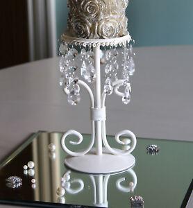 cream-metal-candle-holder-candelabra-single-vintage-jewel-wedding-chic-dropper