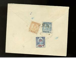 1950s Iraq airmail cover to USA
