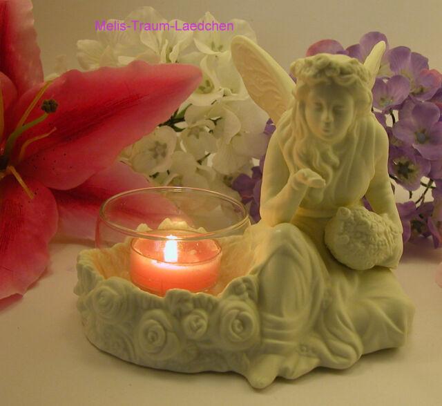 Teelichthalter Partylite Ariana Elfe Fee P7135 neu OVP