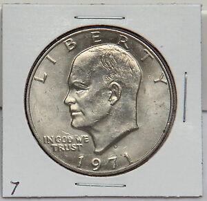 1971 D Eisenhower Dollar Coin Ike Denver Ebay