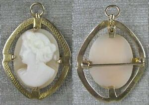 Real-Nice-1860-s-Vintage-14K-Gold-Fancy-Cameo-Pin