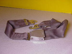 COMMERCIAL-AIRLINER-SEAT-BELT-SET-OF-4-USED-AIRCRAFT-PART