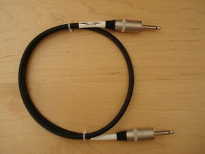 Klotz-Jack-Guitar-Amp-Cab-Cabinet-Speaker-Cable-1m-for-Marshall-Orange-Peavey