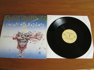 IRON-MAIDEN-CAN-I-PLAY-WITH-MADNESS-RARE-NM-12-034-Maxi-Vinyl-Emi