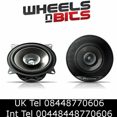 Pioneer TS-g1021i 10cm 4 inch 180Watt car Speakers set of two 4ohms 2 speakers