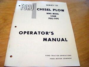 Ford-131-Chisel-Plow-Wing-Model-Operators-Manual-Disk