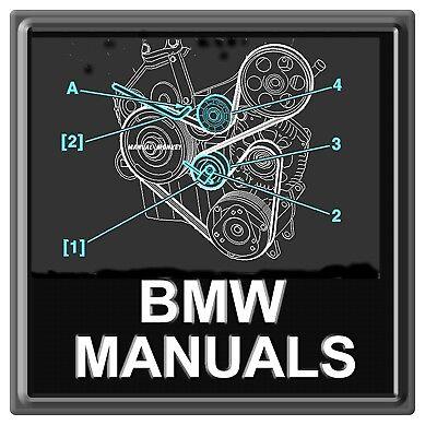 BMW Werkstatthandbuch 1,3,5,6,7,8 Serie Service Reparatur