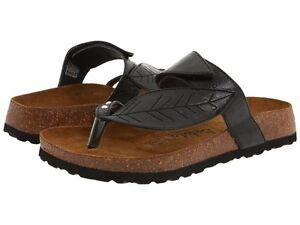 New-BETULA-Birkenstock-Bombay-Black-Flops-Thongs-Sandals-Women-039-s-5-6-7-8-9-10-11