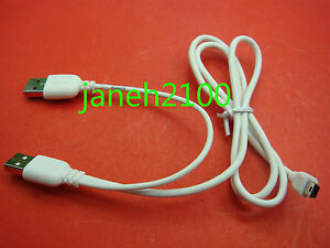 Usb 20 mini 5 pin to a male power split y cable for 25 hdd hard image is loading usb 2 0 mini 5 pin to a sciox Gallery