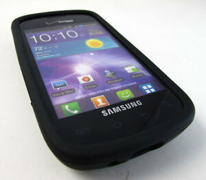 BLACK-SOFT-SILICONE-GEL-RUBBER-SKIN-CASE-COVER-SAMSUNG-ILLUSION-GALAXY-PROCLAIM
