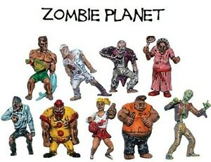 ZOMBIE-PLANET-set-of-9-different-figures-party-favors-cake-toppers-dioramas