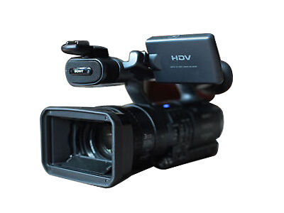 Sony FX 1 3CCD High Definition DV Camcorder with case. Power charger, two batter