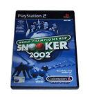 World Championship Snooker 2002 (Sony PlayStation 2, 2001) - European Version