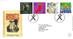 6-JULY-1999-CITIZENS-TALE-ROYAL-MAIL-FIRST-DAY-COVER-NEWTOWN-SHS