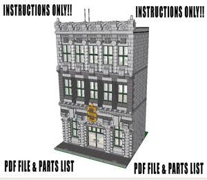 free lego instructions custom